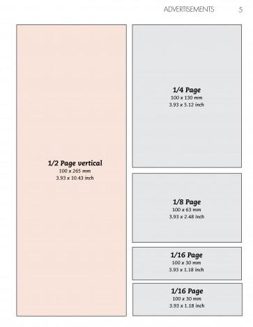 Advertentie 1/2 pagina Verticaal