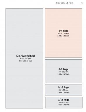 Anzeige 1/4 Seite