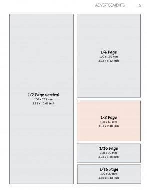 Anzeige 1/8 Seite