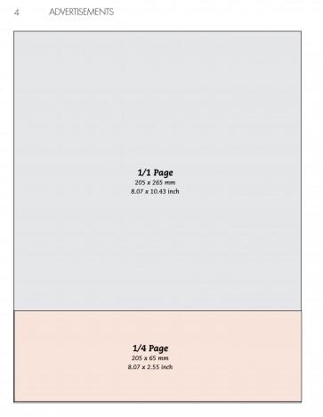 Anuncio 1/4 página Horizontal